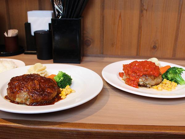 にんにくステーキ+辛口トマト