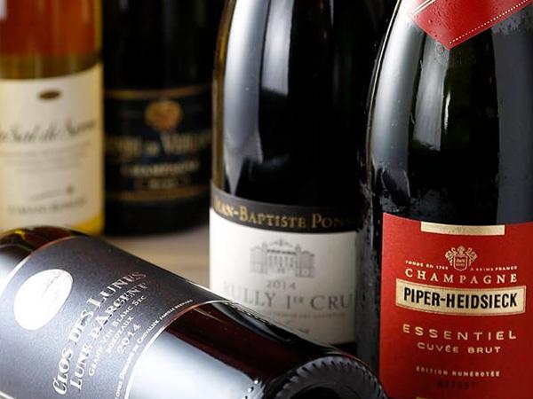 ワイン/スパークリングワイン Wine/Sparkling