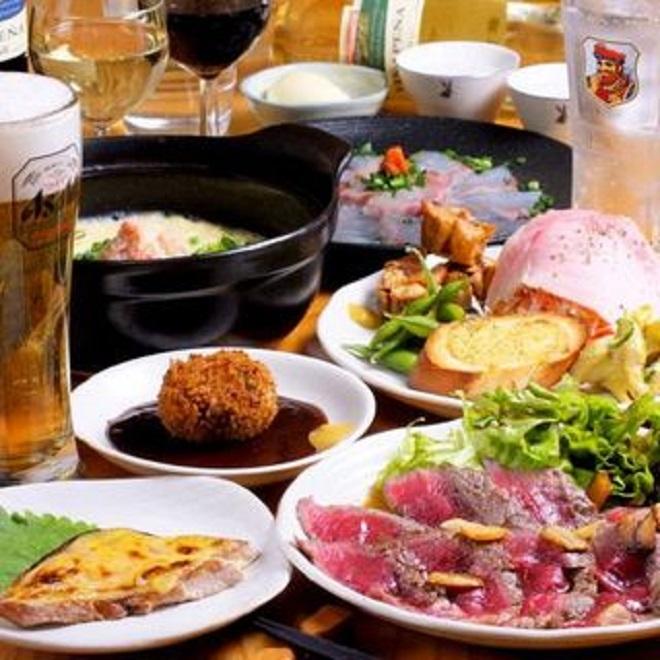 【歓迎会/各種宴会】<br>2時間飲み放題付きお一人様5,000円コース