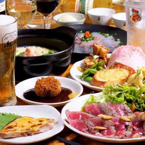 【歓迎会/各種宴会】<br>2時間飲み放題付きお一人様4,000円コース